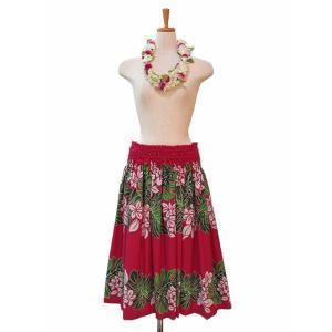 パウスカート フラダンス衣装 ピンク  PAUB0459|p-para|02