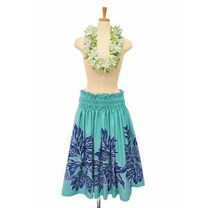 パウスカート フラダンス衣装 水色  PAUB0520|p-para|02