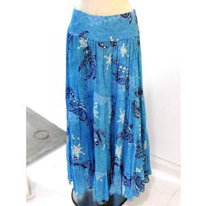 タリーズポリネシア ロングスカート Sサイズ(TP-Skirt005)|p-para