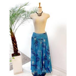 タリーズポリネシア ロングスカート Sサイズ(TP-Skirt005)|p-para|02