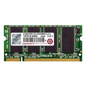 トランセンド TS64MSD64V4J 200Pins DDR SDRAM PC3200 DDR400 DIMM 64M