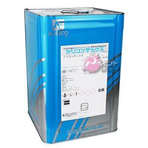 関西ペイント シリコンテックス;白 16kg 塗料