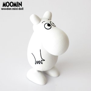 ムーミン 木製 ミニフィギュア / ムーミントロール p-s