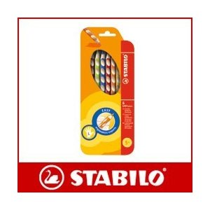 色鉛筆 セット スタビロ イージーカラー 6色セット|p-s
