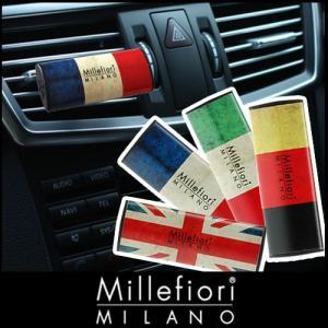 millefiori カーエアフレッシュナー 車用 芳香剤 / フラッグシリーズ|p-s