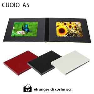 アルバム etranger di costarica CUOIO A5 サイズ レザー調ペーパー素材 全3カラー|p-s