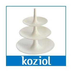 koziol / コジオル BABELL / バベル フルーツディッシュ / L. ホワイト|p-s
