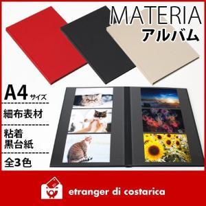 アルバム etranger di costarica MATERIA A4サイズ 細布素材 全3カラー|p-s