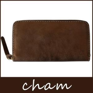 長財布 本革 cham チャム ブロンズ LXKH-003 BRO|p-s