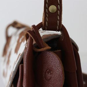 ショルダーバッグ 本革 cham チャム PONY PLUMP BAG キャメル PN-010CAM ハラコ|p-s|06
