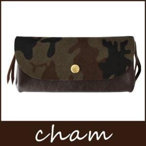 cham チャム PONY-CAMO ポニーカモ PN-014 BRN カモフラ / ブラウン|p-s