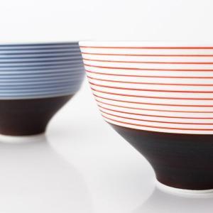 KIHARA キハラ 飯碗 茶碗 呉須千段 単品 全2色|p-s|04