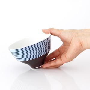 KIHARA キハラ 飯碗 茶碗 呉須千段 単品 全2色|p-s|05