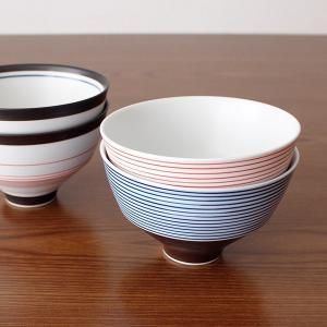 KIHARA キハラ 飯碗 茶碗 呉須千段 単品 全2色|p-s|09