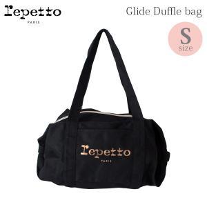 バッグ レペット コットンキャンバス Glide Duffle bag ブラック B0232T |p-s