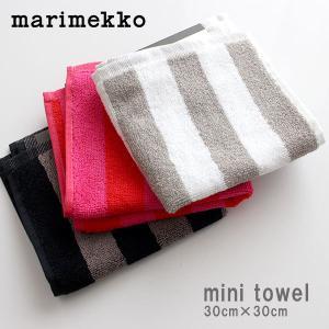 メール便 3枚まで可 タオル ハンカチ マリメッコ KAKSI RAITAA カクシライタ ミニタオル 30×30cm 全3色 p-s
