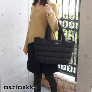 トートバッグ マリメッコ Milla ブラック|p-s