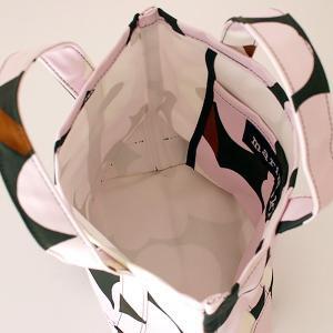 トートバッグ マリメッコ Pieni Unikko ピエニ ウニッコ Seidi キャンバス ミニトートバッグ グリーン×ピンク p-s 05