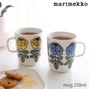 マグカップ マリメッコ Vihkiruusu ヴィヒキルース マグ 250ml 全2色|p-s