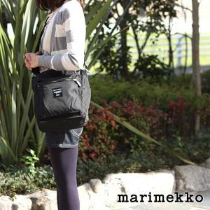 ショルダーバッグ マリメッコ Pal ブラック|p-s