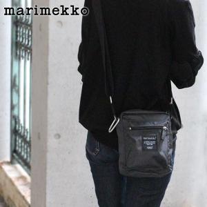 ショルダーバッグ マリメッコ  Cash & Carry チャコール グレー|p-s