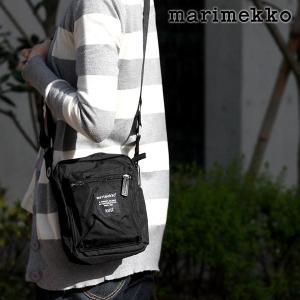 ショルダーバッグ マリメッコ  Cash & Carry ブラック |p-s