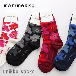 靴下 ソックス マリメッコ ウニッコ 靴下 レディース|p-s