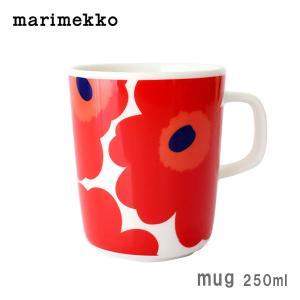 マグカップ マリメッコ コーヒーカップ ウニッコ レッド|p-s