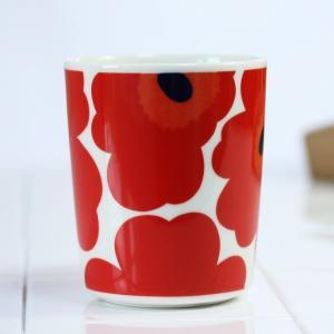 マグカップ マリメッコ コーヒーカップ ウニッコ レッド|p-s|02