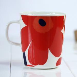 マグカップ マリメッコ コーヒーカップ ウニッコ レッド|p-s|03
