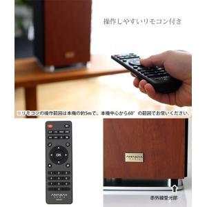 アナバス オーディオ CDクロックラジオシステム AA-001|p-s|04