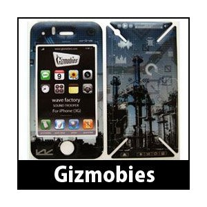 iPhone 3G / 3GS カバー Gizmobies / ギズモビーズ wave factory|p-s