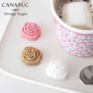 角砂糖 カナスック  ラッピング ローズ シュガー ボックス 180g  ホワイト・アンバー・ピンク|p-s