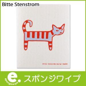 メール便 10枚まで可 スポンジワイプ Sサイズ キャットモンス RD 17×20cm Bitte Stenstrom p-s