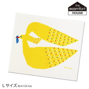 スポンジワイプ Lサイズ kata kata かもめ 大 30.4×25.7cm p-s