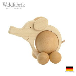 木製雑貨 置物 ヴァルトファブリック社 Waldfabrik ころころ アニマル ゾウ p-s