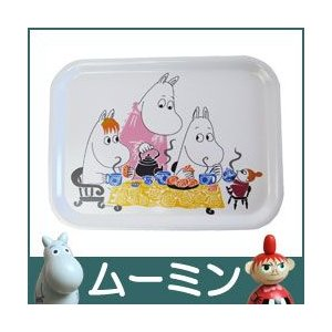 ムーミン ミニトレイ / Moomin Tea Party ( ティーパーティー )|p-s