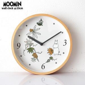 ムーミン 木枠 ウォールクロック 壁掛け時計 置時計 ロストインバレー|p-s
