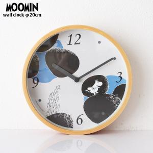 MOOMIN ( ムーミン ) 木枠 ウォールクロック 壁掛け時計 「ストーン 」 ( ムーミンタイムピーシーズ )|p-s