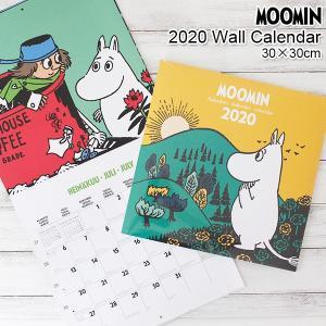 ムーミン 2020年  ウォールカレンダー 30×30cm|p-s