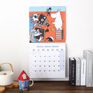 ムーミン 2020年  ウォールカレンダー 30×30cm|p-s|05