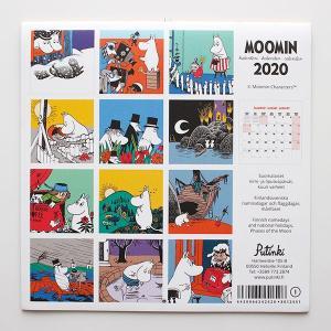 ムーミン 2020年  ウォールカレンダー 30×30cm|p-s|07