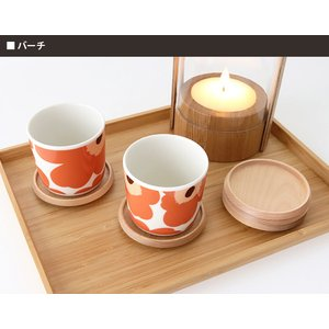 メール便 可 コースター 木製 日本製 Museo ミュゼオ 小 φ88  単品 全5種類|p-s|04
