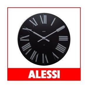 掛け時計 おしゃれ アレッシィ フィレンツェ ブラック ALESSI Firenze |p-s