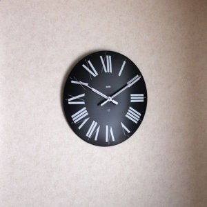 掛け時計 おしゃれ アレッシィ フィレンツェ ブラック ALESSI Firenze |p-s|03