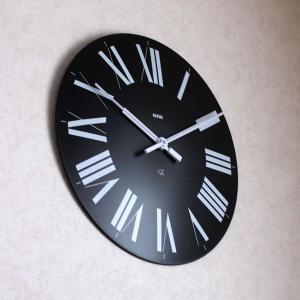 掛け時計 おしゃれ アレッシィ フィレンツェ ブラック ALESSI Firenze |p-s|04