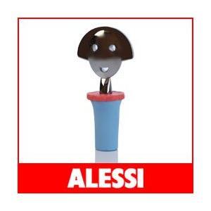 アレッシィ ボトルストッパー アンナストップ 2 ブルー ALESSI ANNA STOP 2|p-s