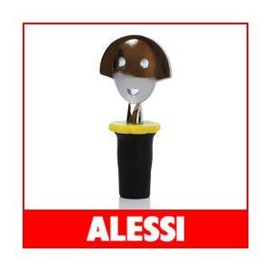 アレッシィ  アンナストップ 2  ボトルストッパー / ブラック|p-s