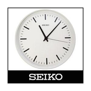 SEIKO / セイコー  電波時計 STANDARD ANALOG CLOCK / スタンダード アナログクロック Lサイズ / ホワイト ( KX308W )|p-s