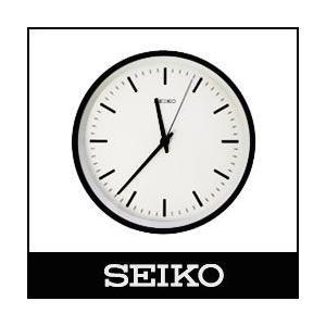 SEIKO / セイコー  電波時計 STANDARD ANALOG CLOCK / スタンダード アナログクロック  Mサイズ / ブラック ( KX309K )|p-s